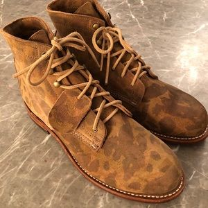 Wolverine 1,000 Mile Camouflage Boots